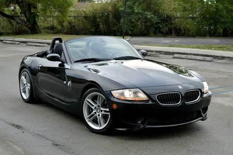 2007 BMW Z4 M for sale at MIAMI IMPORTS in Miami FL