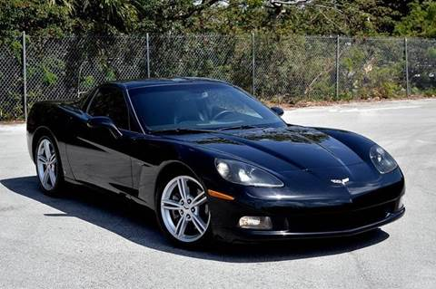 2008 Chevrolet Corvette for sale at MIAMI IMPORTS in Miami FL