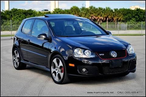 2007 Volkswagen GTI for sale at MIAMI IMPORTS in Miami FL