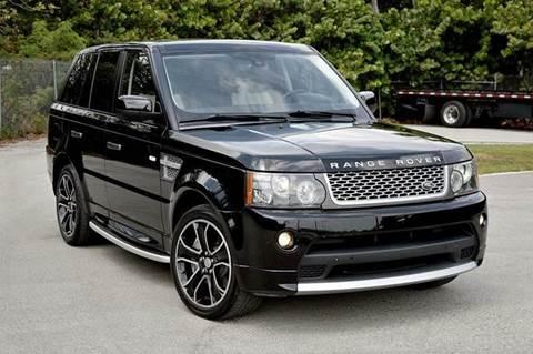 2010 Land Rover Range Rover Sport for sale at MIAMI IMPORTS in Miami FL
