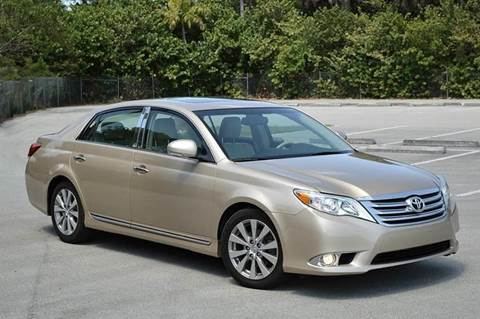 2011 Toyota Avalon for sale at MIAMI IMPORTS in Miami FL