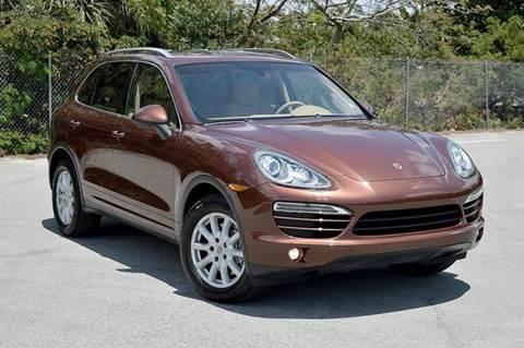 2011 Porsche Cayenne for sale at MIAMI IMPORTS in Miami FL