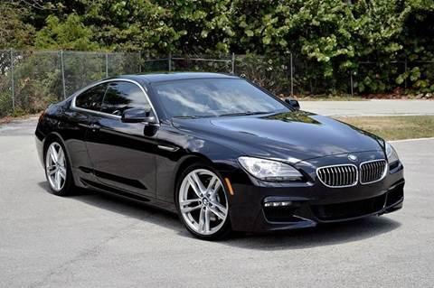 2012 BMW 6 Series for sale at MIAMI IMPORTS in Miami FL