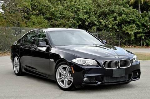 2013 BMW 5 Series for sale at MIAMI IMPORTS in Miami FL