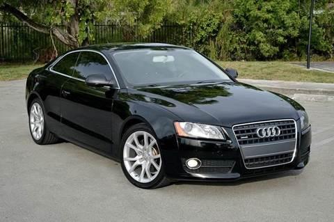 2010 Audi A5 for sale at MIAMI IMPORTS in Miami FL