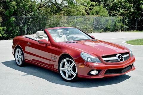 2009 Mercedes-Benz SL-Class for sale at MIAMI IMPORTS in Miami FL