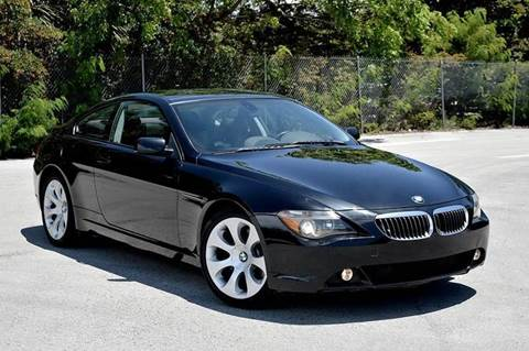 2004 BMW 6 Series for sale at MIAMI IMPORTS in Miami FL