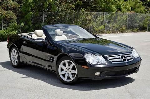2005 Mercedes-Benz SL-Class for sale at MIAMI IMPORTS in Miami FL
