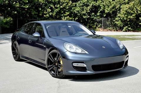 2010 Porsche Panamera for sale at MIAMI IMPORTS in Miami FL