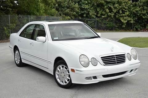 2001 Mercedes-Benz E-Class for sale at MIAMI IMPORTS in Miami FL