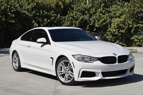 2015 BMW 4 Series for sale at MIAMI IMPORTS in Miami FL