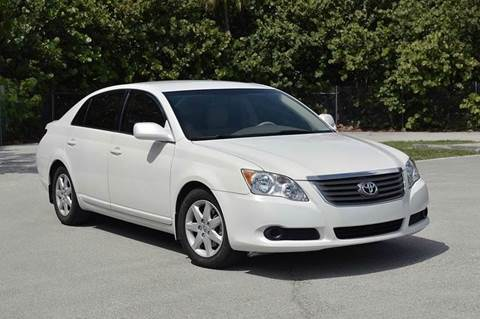 2010 Toyota Avalon for sale at MIAMI IMPORTS in Miami FL
