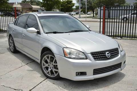 2006 Nissan Altima for sale at MIAMI IMPORTS in Miami FL