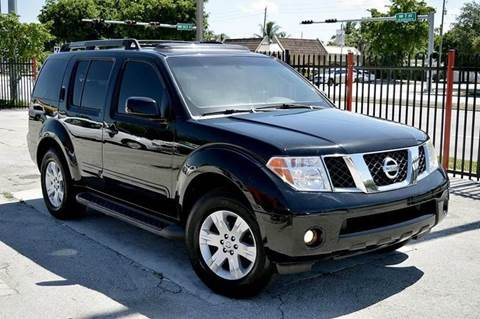 2007 Nissan Pathfinder for sale at MIAMI IMPORTS in Miami FL
