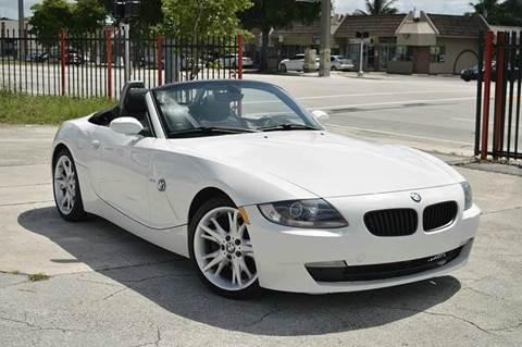 2008 BMW Z4 for sale at MIAMI IMPORTS in Miami FL