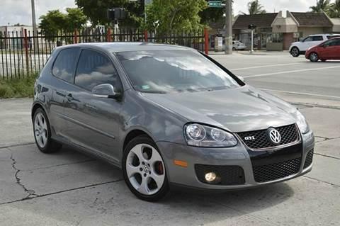 2008 Volkswagen GTI for sale at MIAMI IMPORTS in Miami FL