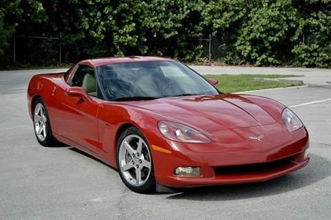 2005 Chevrolet Corvette for sale at MIAMI IMPORTS in Miami FL