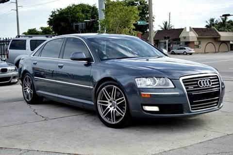 2008 Audi A8 L for sale at MIAMI IMPORTS in Miami FL
