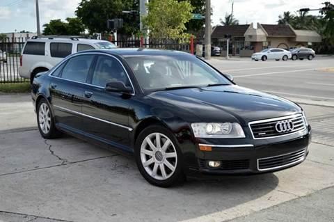 2005 Audi A8 L for sale at MIAMI IMPORTS in Miami FL
