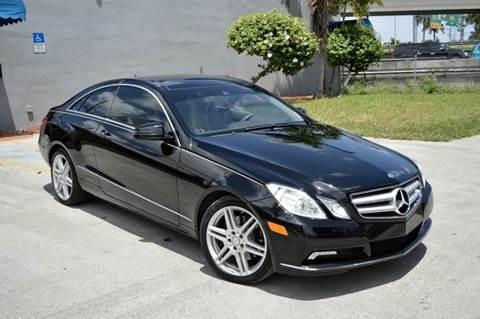 2010 Mercedes-Benz E-Class for sale at MIAMI IMPORTS in Miami FL
