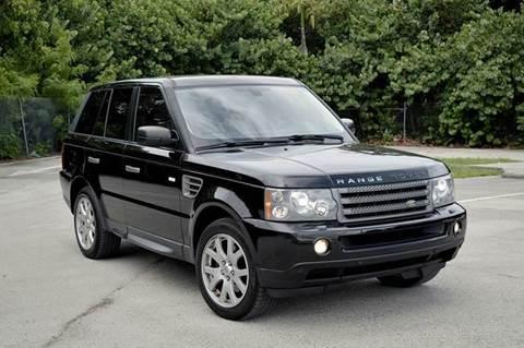 2009 Land Rover Range Rover Sport for sale at MIAMI IMPORTS in Miami FL
