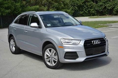 2016 Audi Q3 for sale at MIAMI IMPORTS in Miami FL