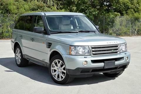 2008 Land Rover Range Rover Sport for sale at MIAMI IMPORTS in Miami FL