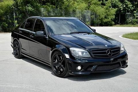 2010 Mercedes-Benz C-Class for sale at MIAMI IMPORTS in Miami FL