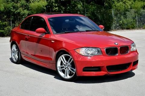 2009 BMW 1 Series for sale at MIAMI IMPORTS in Miami FL