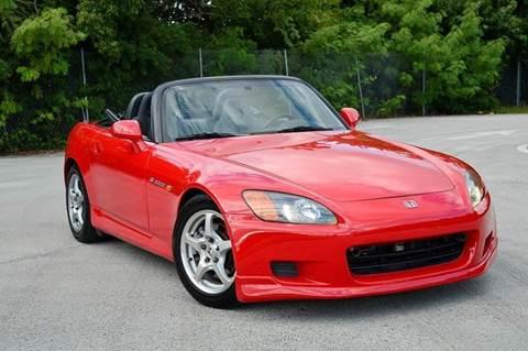 2001 Honda S2000 for sale at MIAMI IMPORTS in Miami FL