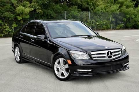2011 Mercedes-Benz C-Class for sale at MIAMI IMPORTS in Miami FL