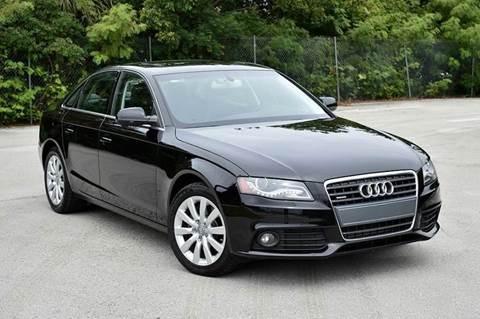 2012 Audi A4 for sale at MIAMI IMPORTS in Miami FL
