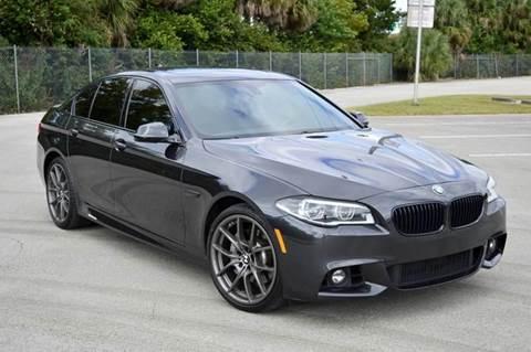 2014 BMW 5 Series for sale at MIAMI IMPORTS in Miami FL