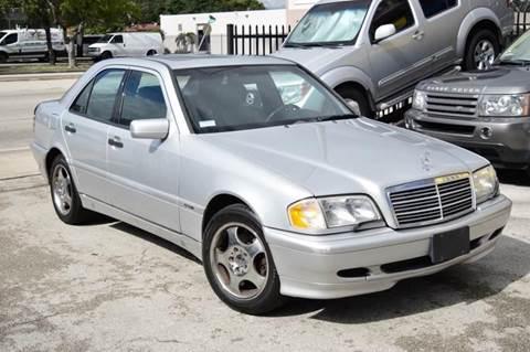 2000 Mercedes-Benz C-Class for sale at MIAMI IMPORTS in Miami FL