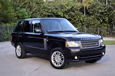 2010 Land Rover Range Rover for sale at MIAMI IMPORTS in Miami FL