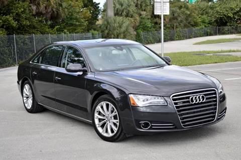 2011 Audi A8 L for sale at MIAMI IMPORTS in Miami FL