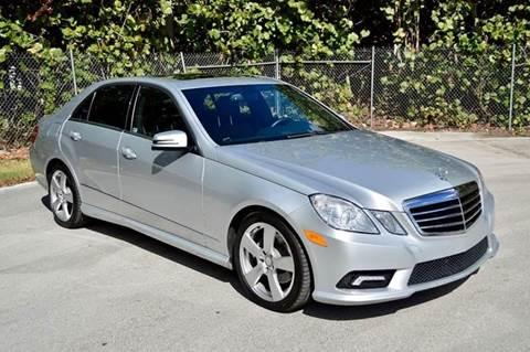 2011 Mercedes-Benz E-Class for sale at MIAMI IMPORTS in Miami FL