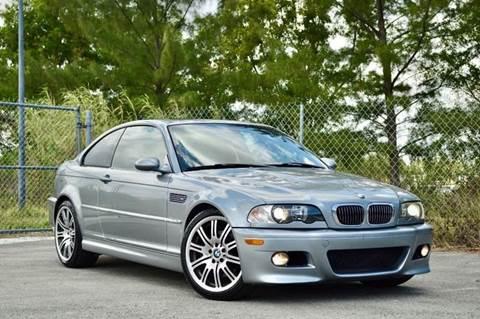 2005 BMW M3 for sale at MIAMI IMPORTS in Miami FL
