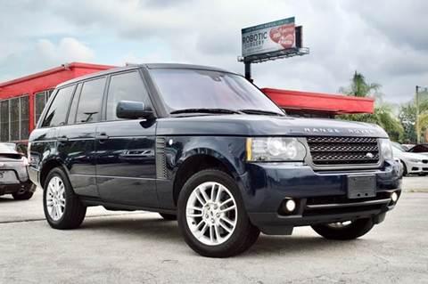 2011 Land Rover Range Rover for sale at MIAMI IMPORTS in Miami FL