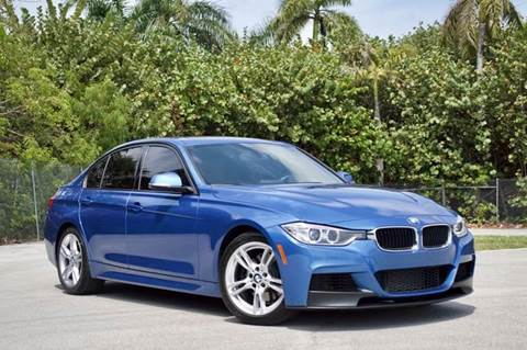 2014 BMW 3 Series for sale at MIAMI IMPORTS in Miami FL
