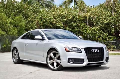 2009 Audi A5 for sale at MIAMI IMPORTS in Miami FL