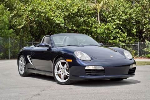 2005 Porsche Boxster for sale at MIAMI IMPORTS in Miami FL