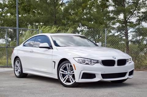 2014 BMW 4 Series for sale at MIAMI IMPORTS in Miami FL