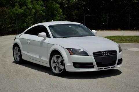 2009 Audi TT for sale at MIAMI IMPORTS in Miami FL