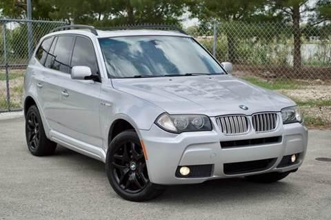 2007 BMW X3 for sale at MIAMI IMPORTS in Miami FL