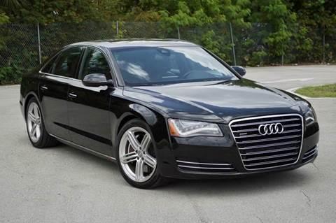2011 Audi A8 for sale at MIAMI IMPORTS in Miami FL