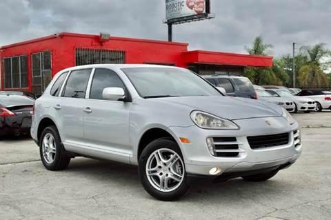 2008 Porsche Cayenne for sale at MIAMI IMPORTS in Miami FL