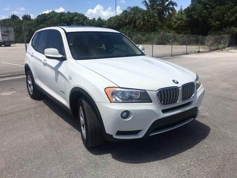 2012 BMW X3 for sale at MIAMI IMPORTS in Miami FL