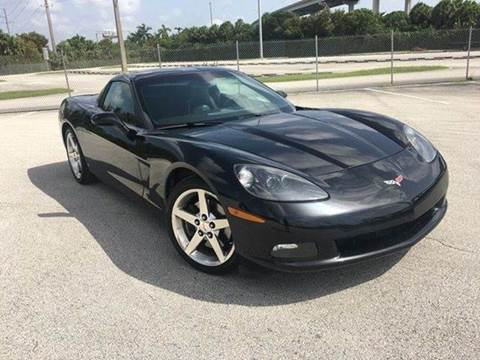 2006 Chevrolet Corvette for sale at MIAMI IMPORTS in Miami FL