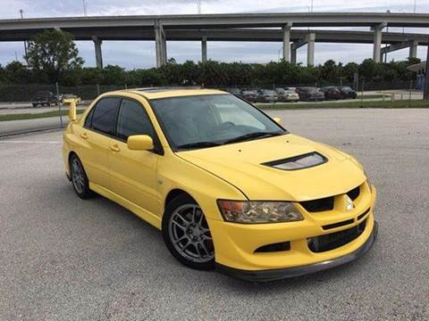 2004 Mitsubishi Lancer Evolution for sale at MIAMI IMPORTS in Miami FL